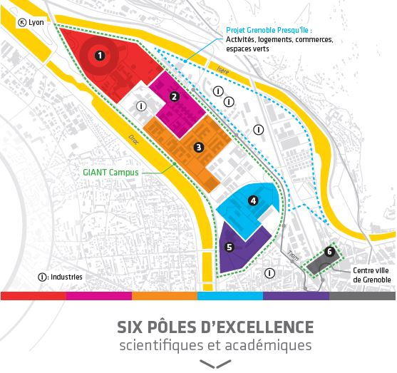 New centres d'excellence
