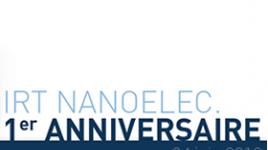 IRT Nanoelec turns one